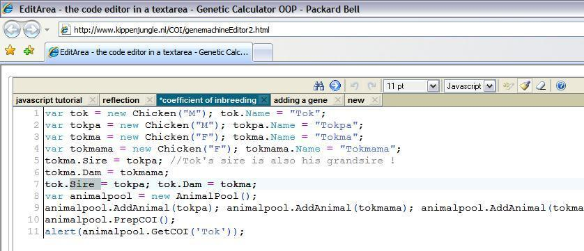 demo index gene machine object oriented javascript genetic calculator
